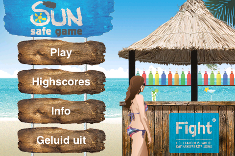 Screenshot Sun Safe Game