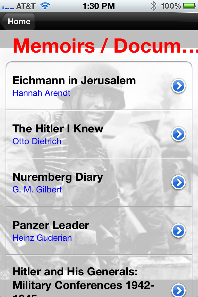 Screenshot Hitler's Germany: History Challenge Lite